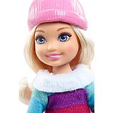 Ляльковий набір ігровий Барбі з сестрами на зимовому відпочинку, фото 6