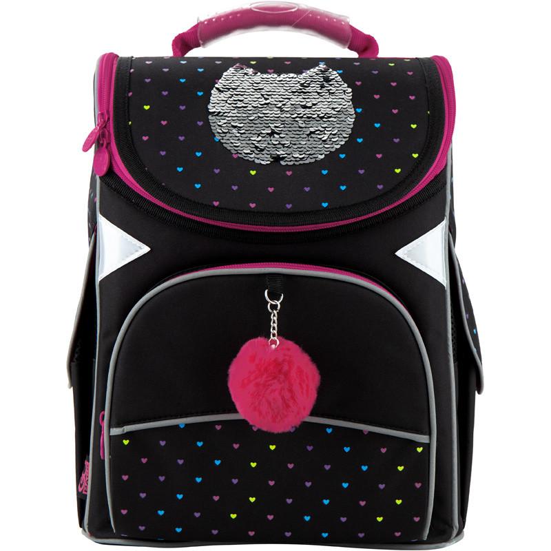 Рюкзак каркасный школьный GoPack Education Shiny cat GO20-5001S-6, 44590