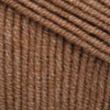 Пряжа Jeans, Yarn Art ,50гр №40 коричневый