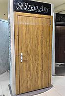Входная дверь для улицы из оцинкованного металла