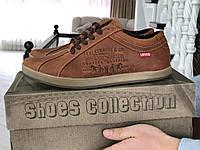 Мужская обувь Levis, кирпичный