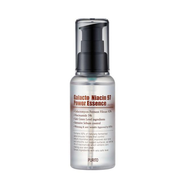 Осветляющая антивозрастная эссенция Purito Galacto Niacin 97 Power Essence 60 ml
