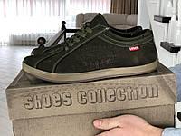 Мужская обувь Levis, темно-зеленые