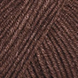 Пряжа Jeans, Yarn Art ,50гр №70 коричневый темный