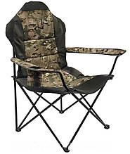 Стул - кресло складной для рыбалки Рыбак люкс Берег милитари