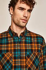 Рубашка мужская в клетку M, фото 2