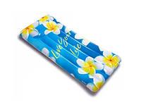 """Матрас одноместный надувной Intex """"Вдохновение"""" Цветы 58772, фото 1"""