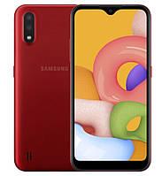 Смартфон Samsung Galaxy A01 2/16GB Red (SM-A015FZKDSEK) (12 мес. гарантия)