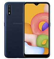 Смартфон Samsung Galaxy A01 2/16GB Blue (SM-A015FZKDSEK) (12 мес. гарантия)