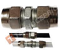 Соединитель тормозной трубки разборной (фитинг)(фурнитура) Ø6мм 8938030340