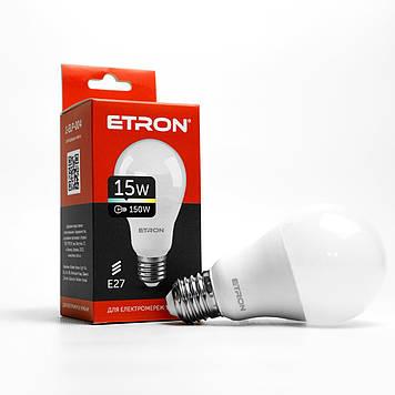 """Лампа """"Etron Light Power"""" LED 1-ELP-004  A65 15Вт 4200K Е27(10)"""