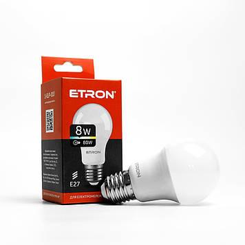 """Лампа """"Etron Light Power"""" LED 1-ELP-010  A55 8Вт 4200K Е27(10)"""