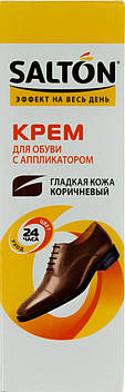 """Крем """"Salton"""" для взуття з норковим маслом, коричн. (туба 75мл) №0051/4975/12"""
