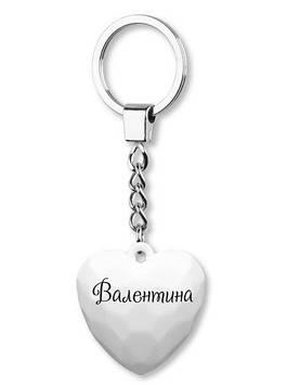 """Брелок серці №037 """"Валентина"""" Gold"""