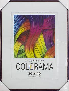 "Фоторамка ""LA Colorama"" 30х40 45 bordo"