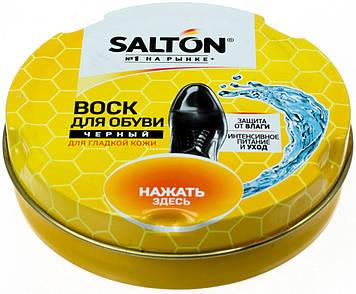 """Віск """"Salton"""" для взуття з норковим маслом чорн. 75мл №0129/4775/18"""