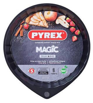 """Форма для випічки """"Pyrex Magic"""" 30см метал. коло.,хвил. борт №76382/MG30BN6"""