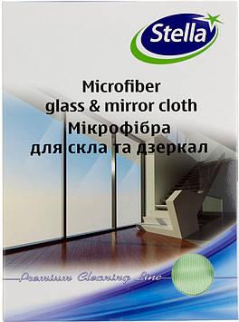 """Ганчірка мікрофібра """"Стелла"""" для скла №5710/0422(30)"""