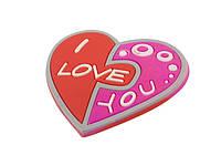 """Магніт """"Сердечко I Love You"""" №214521(12)"""