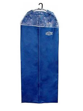 """Чохол для одягу """"Helfer"""" 150х60х10см тим.-синій із захистом №61-49-022"""