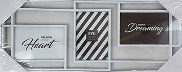 """Фотоколаж """"EVG"""" Fresh №8094 white Collage3(10)"""