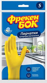 Рукавиці резин. ФБ універсальні S №0291(12)