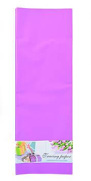 """Папір пакувальний """"Santi"""" 60х60см,бузковий,10 арк. №741631"""