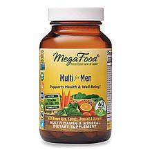 Megafood, Multi for Men Мультивитамины и минералы для мужчин, Органика 60 табл., Оригинал из США
