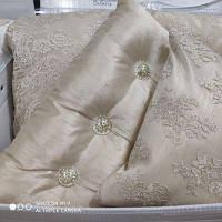 Покрывало PEPPER HOME Турция Belaris tas  270*260 с подушками и наволочками Золото