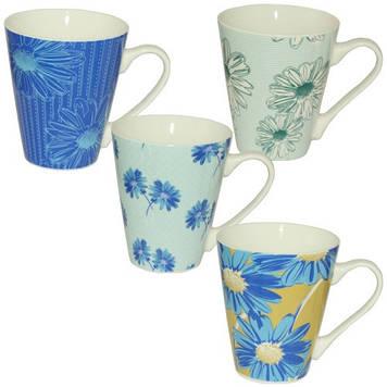 Чашка керам. 300мл мікс №4160-7(12)(48)/S&T/