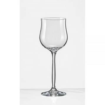 """Набір келихів скло """"Bohemia.Chanson"""" (6шт) 330мм (вино) №4GA05 330/1236"""