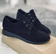 Туфли женские замшевые. Натуральный замш. Размеры 36-40