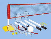 Игровой набор для волейбола, бадминтона и тенниса 3 в 1