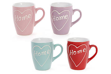 "Чашка керам. 310мл ""Home"" №593-200/Bonadi/(12)(48)"