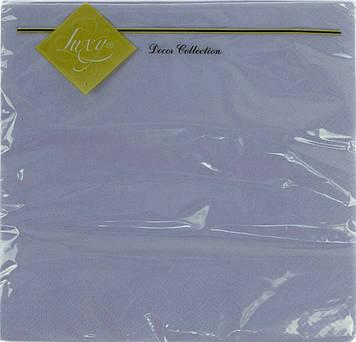 """Серветки столові ТМ """"Luxy"""" 3-х шарові (20шт) фіолетова(15)"""