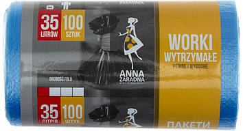 """Пакети для сміття """"Sweet home/Анна Зарадна"""" 35л 100шт HDPE №2280(40)"""