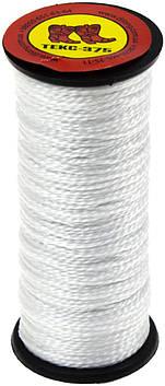Нитки капрон. (375-1) (білі)(10)