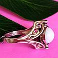 Серебряное кольцо Инь-Янь - Кольцо из серебра День-Ночь, фото 9