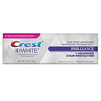 Зубная паста отбеливающая, Crest 3D White Brilliance Advanced 116g