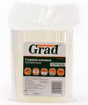 """Клейові стрижні """"Grad"""" d8х200мм прозор.№2701025(114)"""