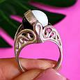 Серебряное кольцо Инь-Янь - Кольцо из серебра День-Ночь, фото 2