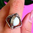 Серебряное кольцо Инь-Янь - Кольцо из серебра День-Ночь, фото 7
