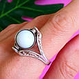 Серебряное кольцо Инь-Янь - Кольцо из серебра День-Ночь, фото 5