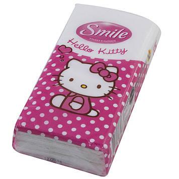 """Хустинки """"Smile"""" Hello Kitty(288)"""