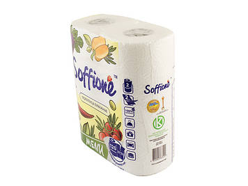 "Рушник паперовий ""Soffione"" №3209(2шт)(20)"