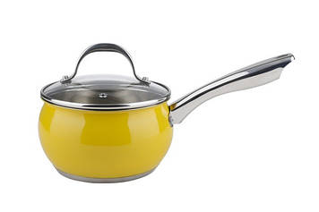"Кухлик нерж. ""Ringel Bavaria"" 16см 1,8 л з кришкою,жовт. №RG-4009-16/1/71753(6)"