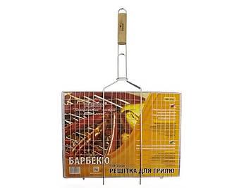 """Решітка-гриль """"Stenson"""" плоска вел. №МН-0161 70(+3)х45х36см(12)"""