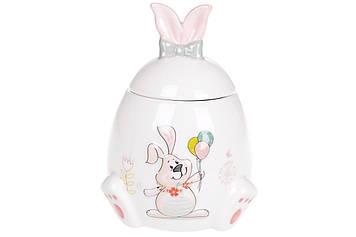"""Банку керам. """"Веселий кролик"""" 450мл №DM152-E/Bonadi/(1)(36)"""