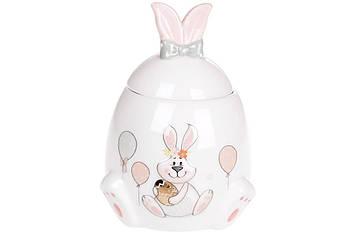 """Банка керам. """"Веселий кролик"""" 450мл №DM151-E/Bonadi/(1)(36)"""