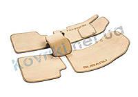 Велюровые (тканевые) коврики в салон ЗАЗ Sens hatchback T100, фото 1